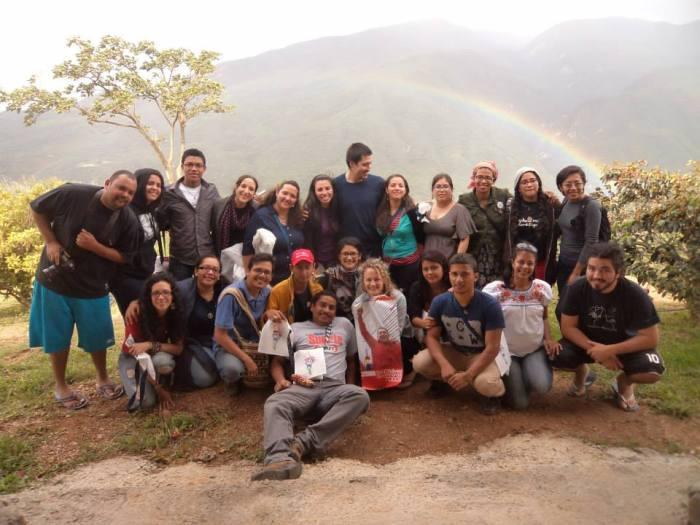 El arco iris junto a nuestra diversidad y unidad